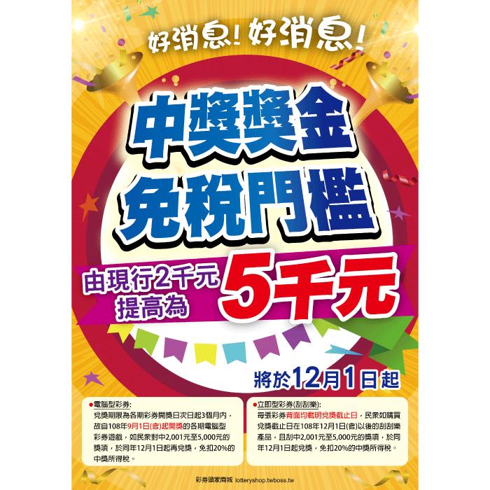 海報-B24057/中獎門檻