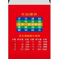 紅包袋背面-B7381