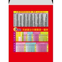 紅包袋背面-B7828